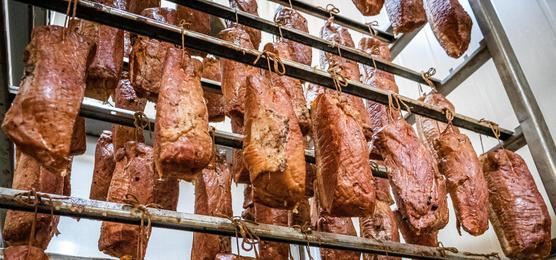 szyna wiejska wędzona tradycyjnie